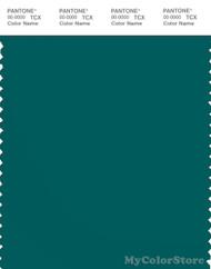 PANTONE SMART 19-5226X Color Swatch Card, Everglade