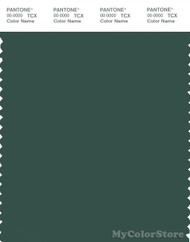 PANTONE SMART 19-5411X Color Swatch Card, Trekking Green