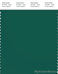 PANTONE SMART 19-5420X Color Swatch Card, Evergreen