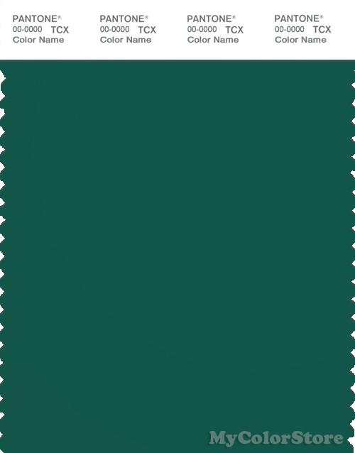 PANTONE SMART 19-5420X Color Swatch Card, Evergreen