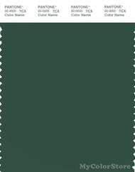 PANTONE SMART 19-5513X Color Swatch Card, Dark Green