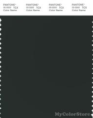 PANTONE SMART 19-5708X Color Swatch Card, Jet Set