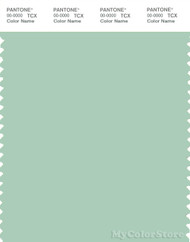 PANTONE SMART 13-5911X Color Swatch Card, Bird's Egg Green