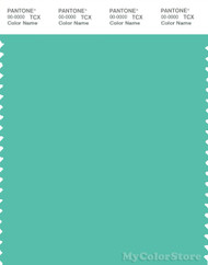 PANTONE SMART 15-5416X Color Swatch Card, Robin's Egg Blue