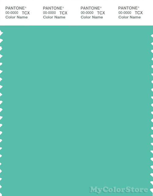 PANTONE SMART 15-5416X Color Swatch Card, Robin's Egg Blue