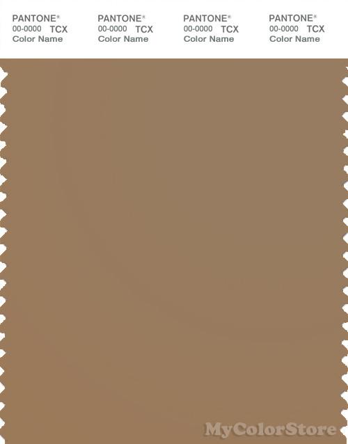 PANTONE SMART 17-1038X Color Swatch Card, Tiger's Eye