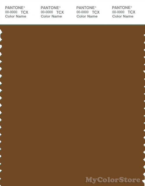 PANTONE SMART 18-1048X Color Swatch Card, Monk's Robe