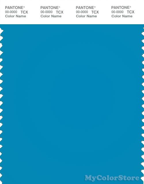 PANTONE SMART 17-4436TN Color Swatch Card, Atomic Blue