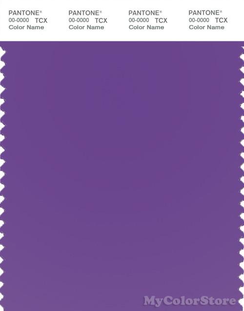 PANTONE SMART 18-3640TN Color Swatch Card, Electric Purple