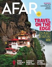 Afar Magazine Subscription (US) - 6 iss/yr