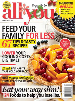 All You Magazine Subscription (US) - 12 iss/yr