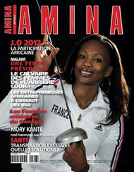 Amina Magazine  (France) - 12 iss/yr (To US Only)