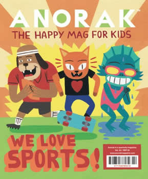 Anorak Magazine  (UK) - 4 iss/yr (To US Only)