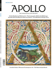 Apollo Magazine  (UK) - 12 iss/yr (To US Only)