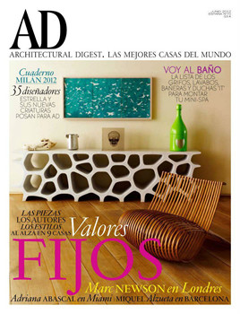 Architectural Digest Magazine  (Spain) - 11 iss/yr (To US Only)