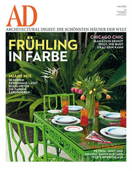 Architectural Digest Magazine  (Germany) - 10 iss/yr (To US Only)