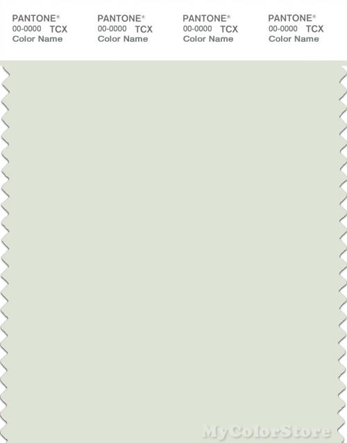 PANTONE SMART 11-0304X Color Swatch Card, Water Lily