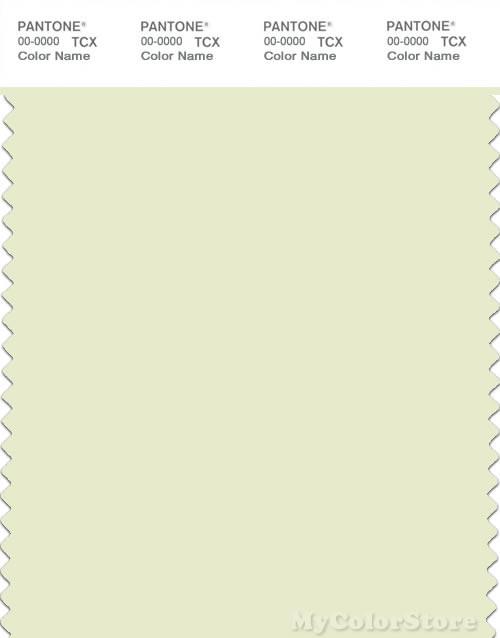 PANTONE SMART 11-0410X Color Swatch Card, Sylvan Green