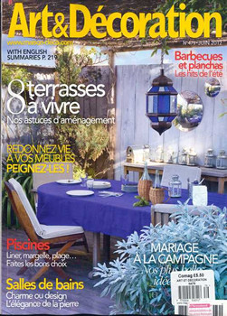 Art Et Decoration Magazine Subscription (France)   9 Iss/yr