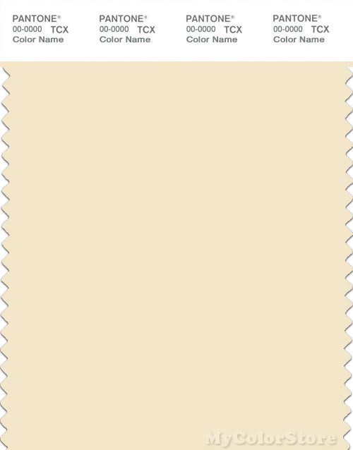 PANTONE SMART 11-0510X Color Swatch Card, Afterglow