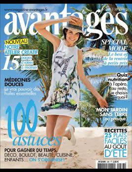 Avantages Magazine Subscription (France) - 12 iss/yr
