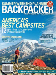 Backpacker Magazine  (US) - 9 iss/yr (To US Only)