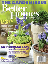 Better Homes & Gardens Magazine  (US) (PRINT EDITION) 12 issues/yr.