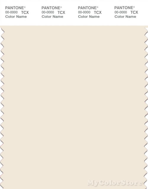 PANTONE SMART 11-0606X Color Swatch Card, Pristine