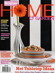 Boston Home & Garden Magazine  (US) - 4 iss/yr (To US Only)