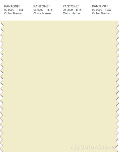PANTONE SMART 11-0609X Color Swatch Card, Etherial Green