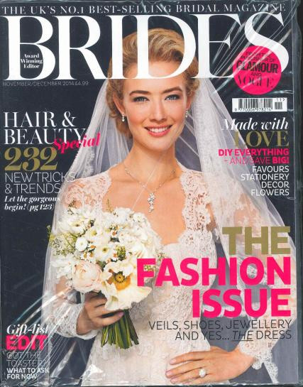 British Brides Magazine Subscription (UK) - 6 iss/yr