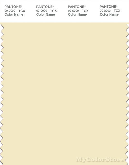 PANTONE SMART 11-0615X Color Swatch Card, Pear Sorbet