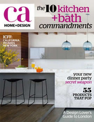 California Home & Design Magazine  (US) - 4 iss/yr (To US Only)