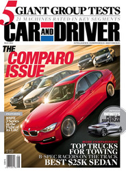 Car And Driver Magazine  (US) - (PRINT EDITION)