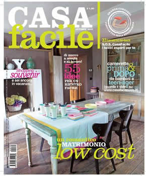 Casa Facile Magazine  (Italy) - 12 iss/yr (To US Only)