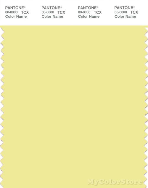 PANTONE SMART 11-0620X Color Swatch Card, Elfin Yellow