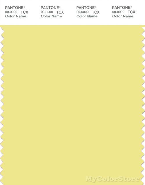 PANTONE SMART 11-0622X Color Swatch Card, Yellow Iris
