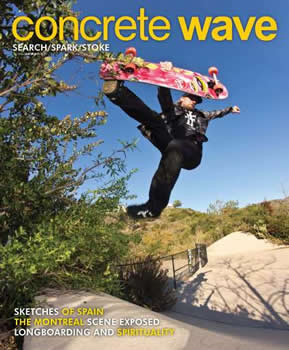 Concrete Wave Magazine Subscription (US) - 6 iss/yr