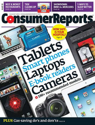 Consumer Reports Magazine  (US) - 12 iss/yr (To US Only)