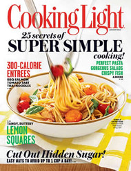 Cooking Light Magazine  (US) - 10 iss/yr (To US Only)