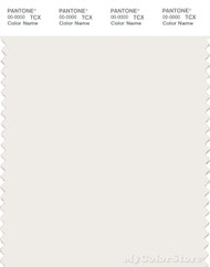 PANTONE SMART 11-1001X Color Swatch Card, White Alyssum