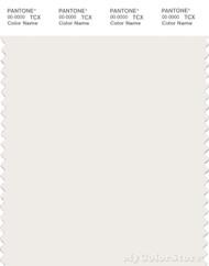 PANTONE SMART 11-1001X Color Swatch Card, White Alyssum