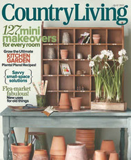 Country Living Magazine  (US) - (PRINT EDITION)