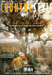 Country Style Magazine  (Australia) - 12 issues/yr. Via Air