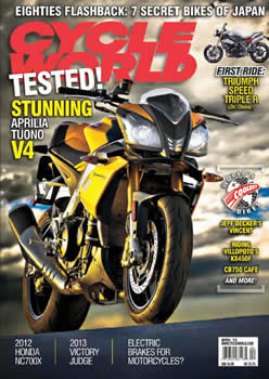 Cycle World Magazine  (US) - 12 iss/yr (To US Only)