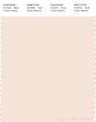 PANTONE SMART 11-1306X Color Swatch Card, Cream Pink