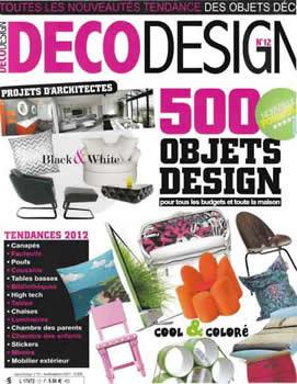 Deco Design Magazine  (France) - 6 iss/yr (To US Only)