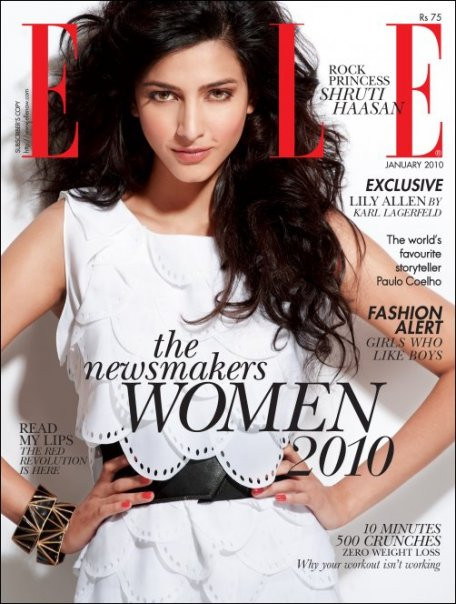 Elle Magazine  (India) - 12 iss/yr (To US Only)