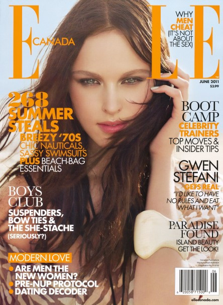 Elle Magazine  (Canada) - 12 iss/yr (To US Only)