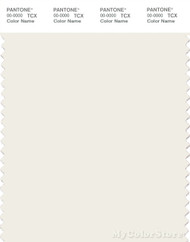 PANTONE SMART 11-4300X Color Swatch Card, Marshmallow
